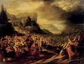 The Destruction of the Pharaoh's army in the Red Sea - (after) Frans II Francken