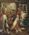 The Adoration of the Magi 2 - (after) Frans II Francken
