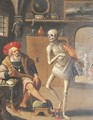 Death and the Rich Man - (after) Frans II Francken