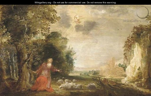 The Annunciation to Joachim - (after) Denys Van Alsloot