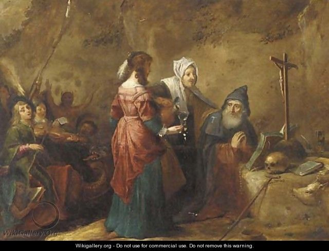 The Temptation of Saint Antony - (after) David The Younger Teniers