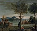 The Rest on the Flight into Eygpt - (after) Domenichino (Domenico Zampieri)