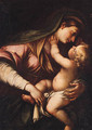 The Madonna and Child - (after) Domenico Piola
