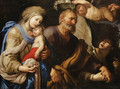 The Flight into Egypt - (after) Domenico Piola