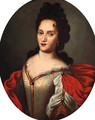 Portrait of a lady - (after) Francesco De Mura
