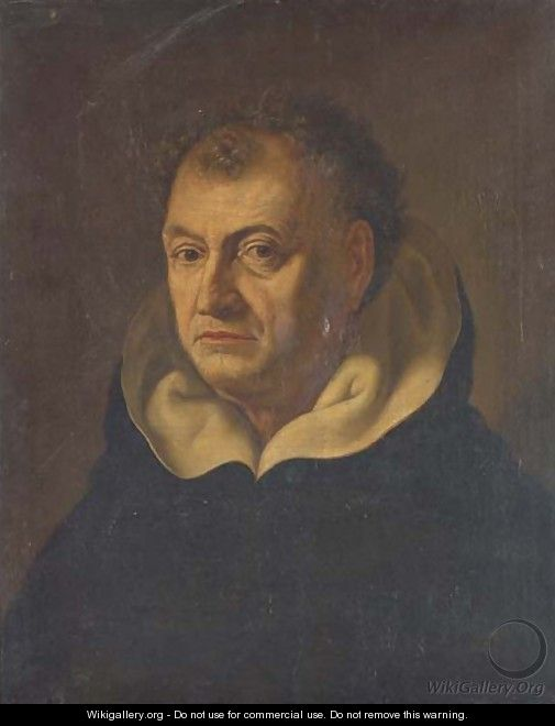 Portrait of a Dominican, bust-length - (after) Fabre, Francois Xavier