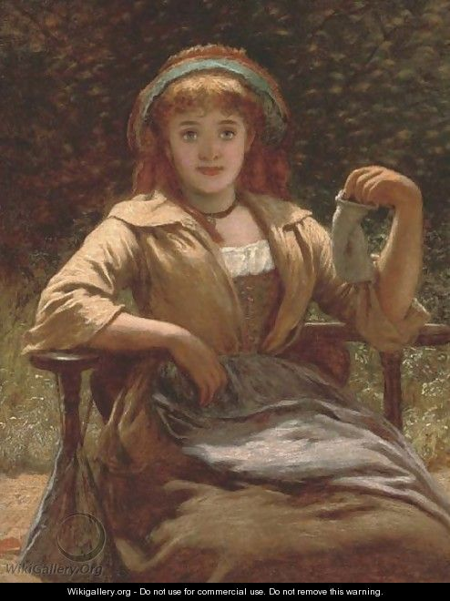 The empty purse - (after) Charles Sillem Lidderdale