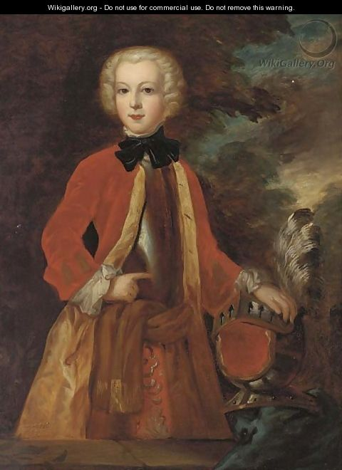 Portrait of Lord Strathnaver - (after) Charles Phillips