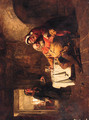 Falstaff in a Tavern - (after) Charles Landseer