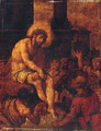 The Mocking of Christ - (after) Cornelis Cornelisz Van Haarlem