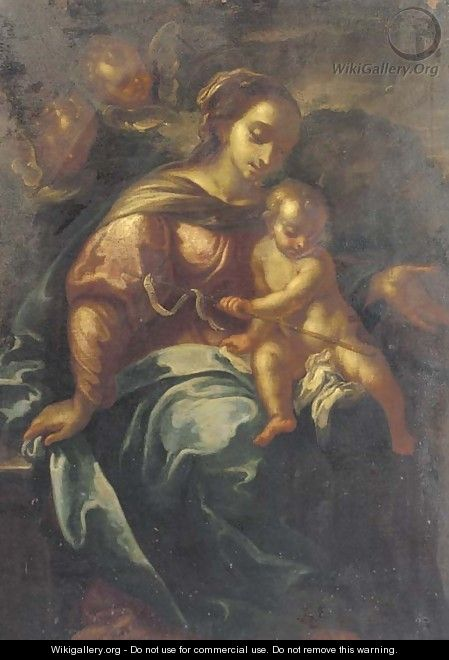 The Madonna and Child - (after) Daniele Crespi