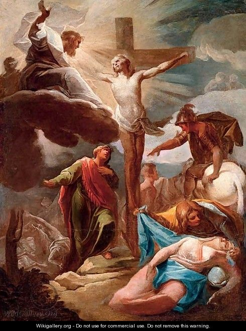 The Crucifixion - (after) Corrado Giaquinto Molfetta