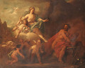 Venus and Mars in Vulcan's Forge - (after) Arnold Houbraken