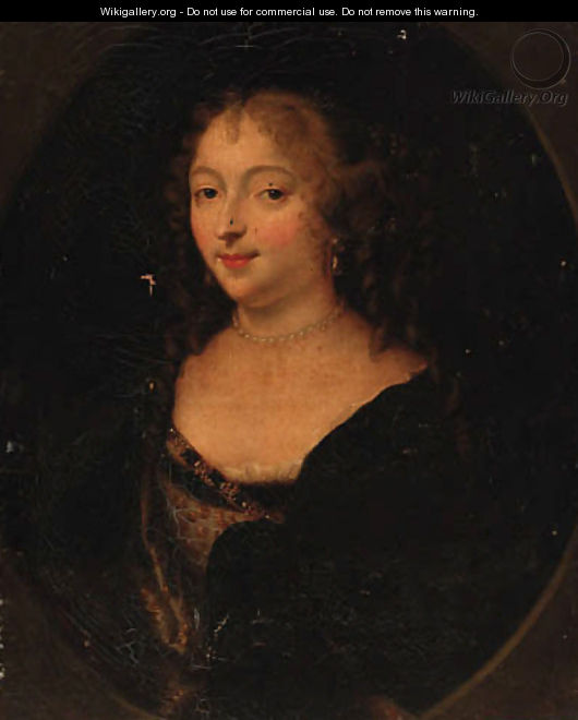 Portrait of a lady 5 - (after) Charles Beaubrun