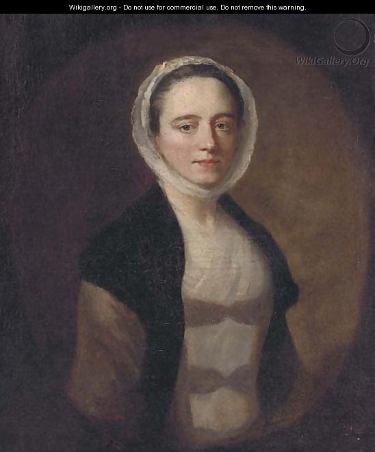 Portrait of a lady 2 - (after) Allan Ramsay