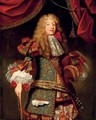 Portrait of man, believed to be The Grand Dauphin (1661-1711) - (after) Alexis-Simon Belle
