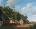 The forester's house - (after) Andreas Schelfhout