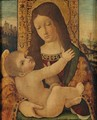 The Madonna and Child - (after) Ambrogio Stefani Da Fossano Borgognone