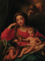 The Madonna and Child with the Infant Saint John the Baptist - (after) Mengs, Anton Raphael