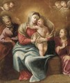 The Holy Family with an Angel - (after) Mengs, Anton Raphael