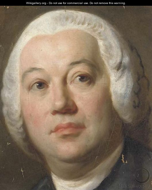 Portrait of a gentleman, small bust-length - (after) Mengs, Anton Raphael