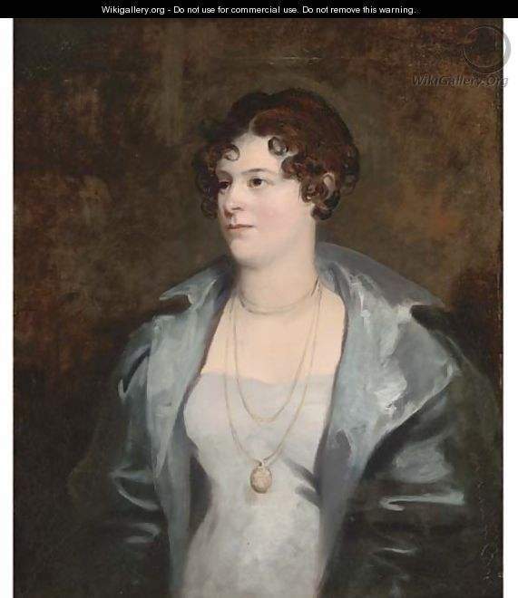 Portrait of Henrietta Graham - (after) Sir John Watson Gordon