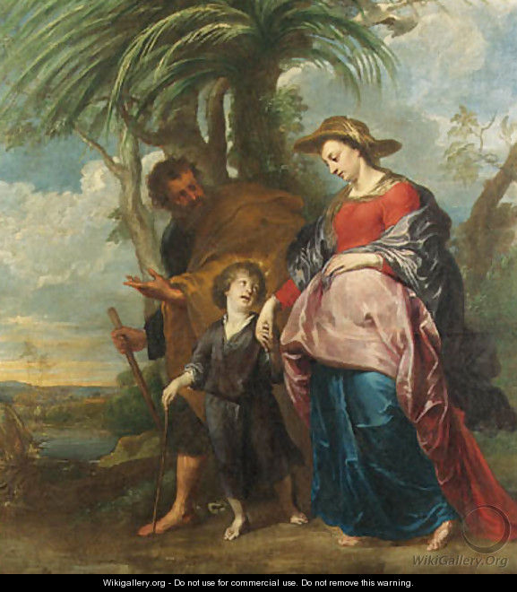 The Return from Egypt - (after) Sir Peter Paul Rubens