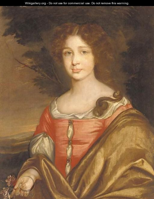 Portrait of Lady Ann Howard - (after) Sir Peter Lely