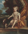 Portrait of a child - (after) Sir Peter Lely