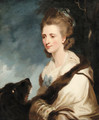 Portrait of Mrs. George Huddesford - (after) Sir Joshua Reynolds