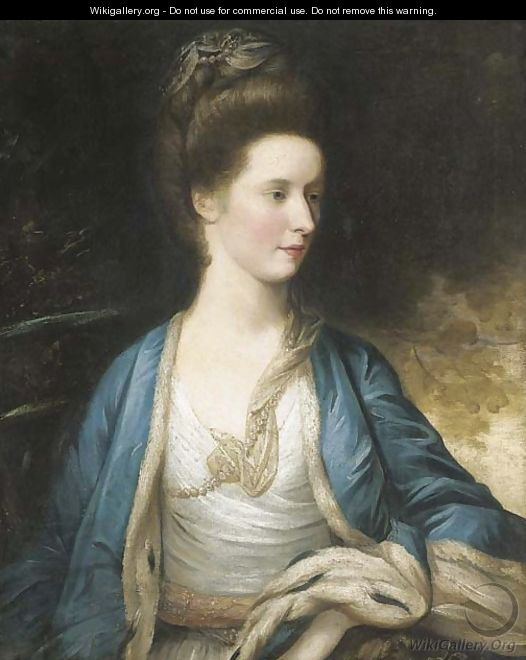 Portrait of Mrs. Hargreave - (after) Sir Joshua Reynolds