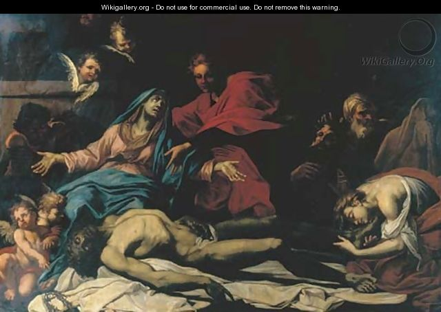 The Lamentation - (after) Stefano Maria Legnani