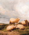 Sheep Resting In A Meadow 2 - (after) Thomas Sidney Cooper