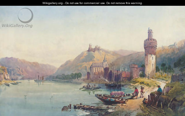 On the Rhine - (after) Richard Principal Leitch