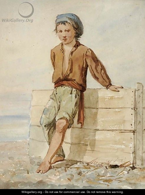 The fisherboy - (after) Prosper-Joseph Florence