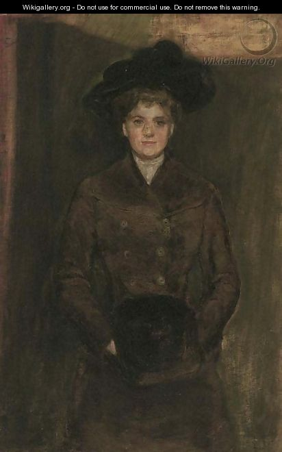 Portrait of a lady - (after) Robert Sauber