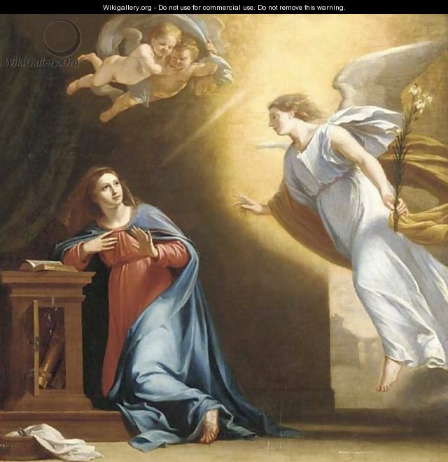 The Annunciation - (after) Philippe De Champaigne