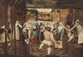 The Dance of the Catherinettes - (after) Pieter The Younger Brueghel