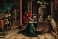 The Adoration of the Shepherds - (after) Pieter Coecke Van Aelst
