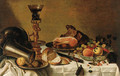 Fruit in a Wanli kraak porselein Bowl - (after) Pieter Claesz