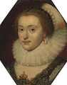 Portrait of a lady - (after) Michiel Jansz. Van Mierevelt