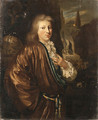 Portrait of a Gentleman - (after) Nicolaes Verkolye