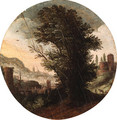 A wooded Landscape with an imaginary Classical City beyond - (after) Paul Bril