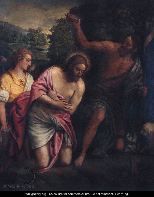 The Baptism of Christ - (after) Paolo Veronese (Caliari)