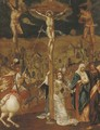 The Crucifixion - (after) Louis De Caullery