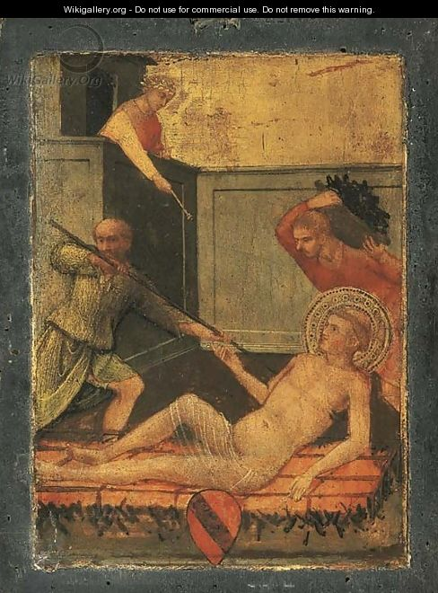 The Martyrdom of Saint Lawrence - (after) Lorenzo Di Niccolo