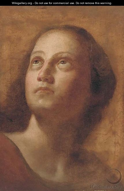 Portrait of a girl - (after) Ludovico Carracci