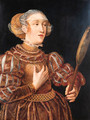 Portrait of a noble woman - (after) Lucas The Younger Cranach