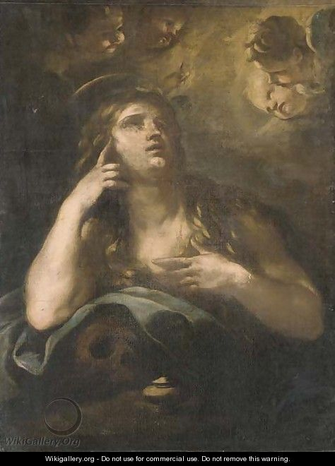 The Penitent Magdalen - (after) Luca Giordano