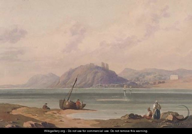 Fishermen on the beach - (after) John Varley